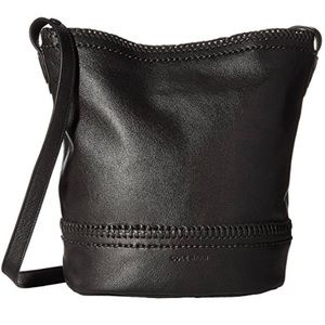 COLE HAAN  Shelly Leather Bucket Bag